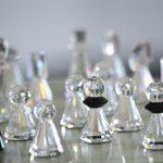 A Swarovski chessboard